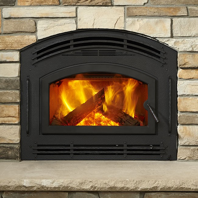 Quadrafire Pioneer III Wood Fireplace